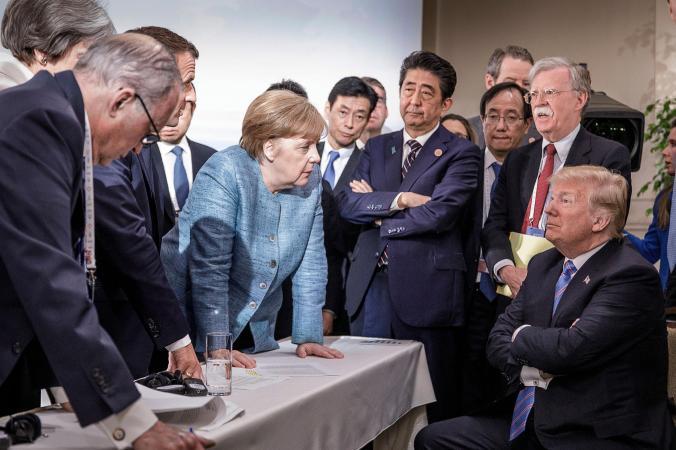 merkel-trump-g7